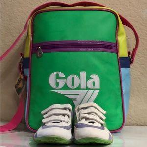 Gola bag and sneaker bundle